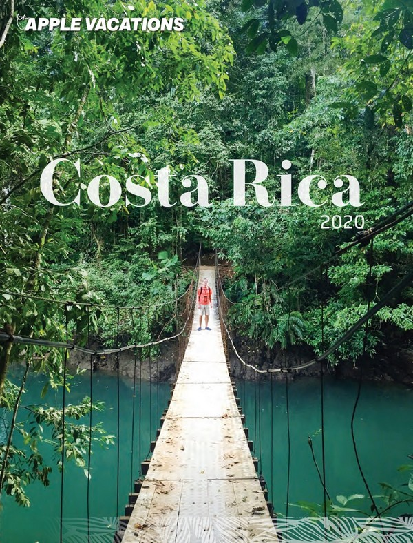 Apple Vacations 2020 Costa Rica eBrochure