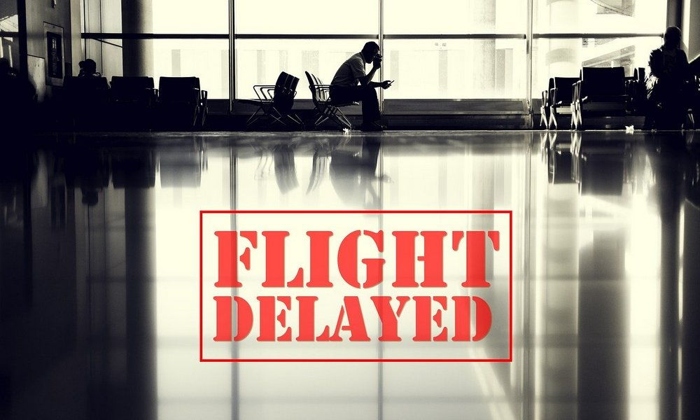 flight delay, holiday travel