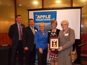 TravelPlex, Apple Vacations, Platinum Award