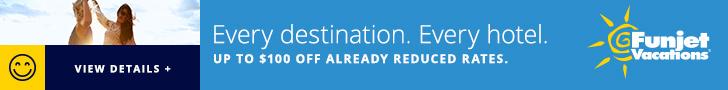 Funjet Vacations, sale, all-inclusive, Mexico, Caribbean, Hawaii, Punta Cana, Jamaica, Aruba