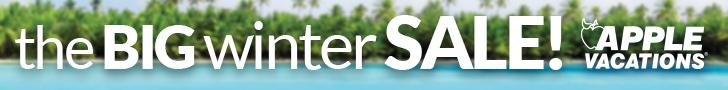 Apple Vacations , Big Winter Event, sale, save, deals, travel, punta cana, puerto vallarta, cancun, riviera maya, montego bay, jamaica, mexico