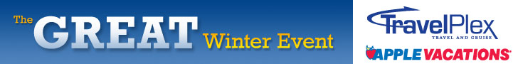 Apple Vacations Great Winter Event sale, mexico, punta cana, jamaica
